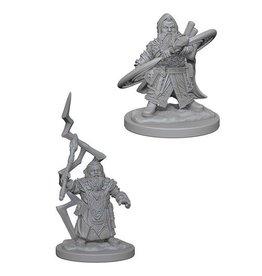 Wizkids Dwarf Male Sorcerer (Wave 4)