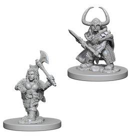 Wizkids Dwarf Female Barbarian