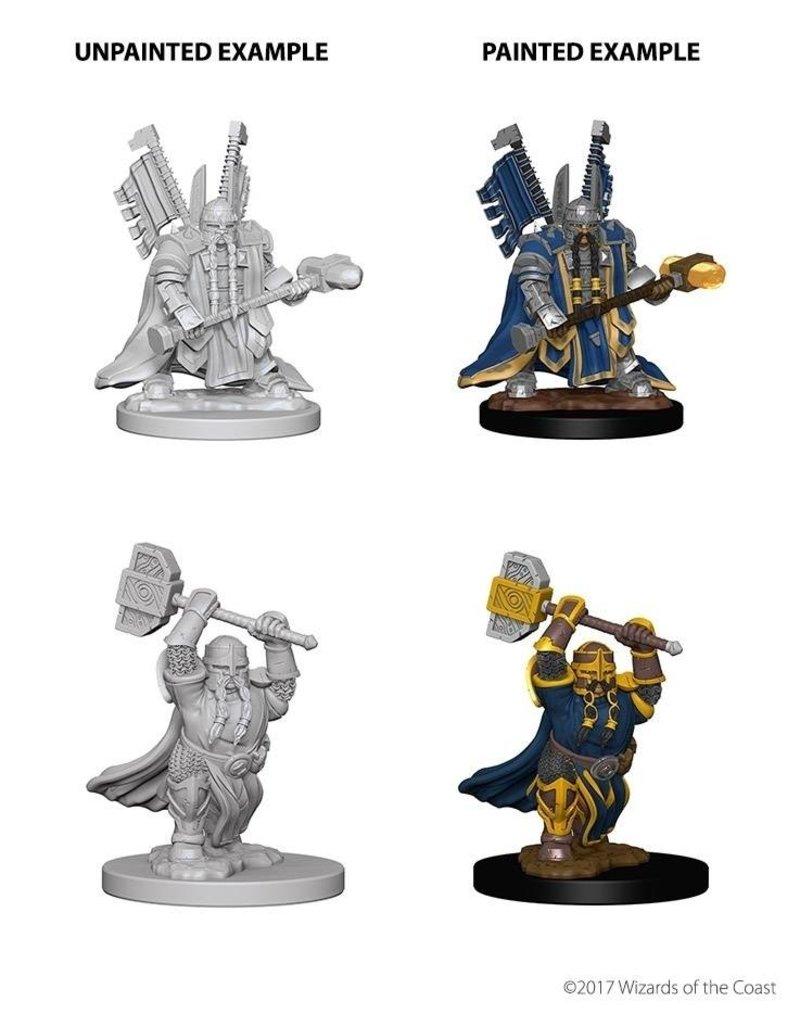 Wizkids Nolzur's Marvelous Miniatures: Dwarf Male Paladin Blister Pack