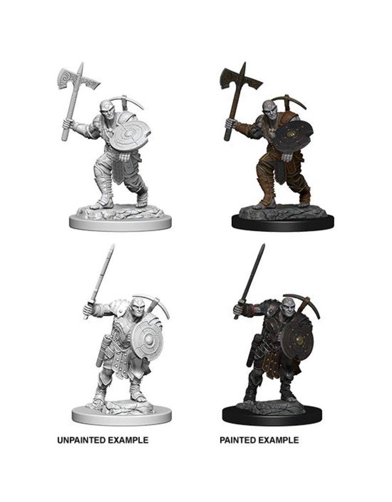 Wizkids Nolzur's Marvelous Miniatures: Earth Genasi Male Fighter Blister Pack (Wave 4)