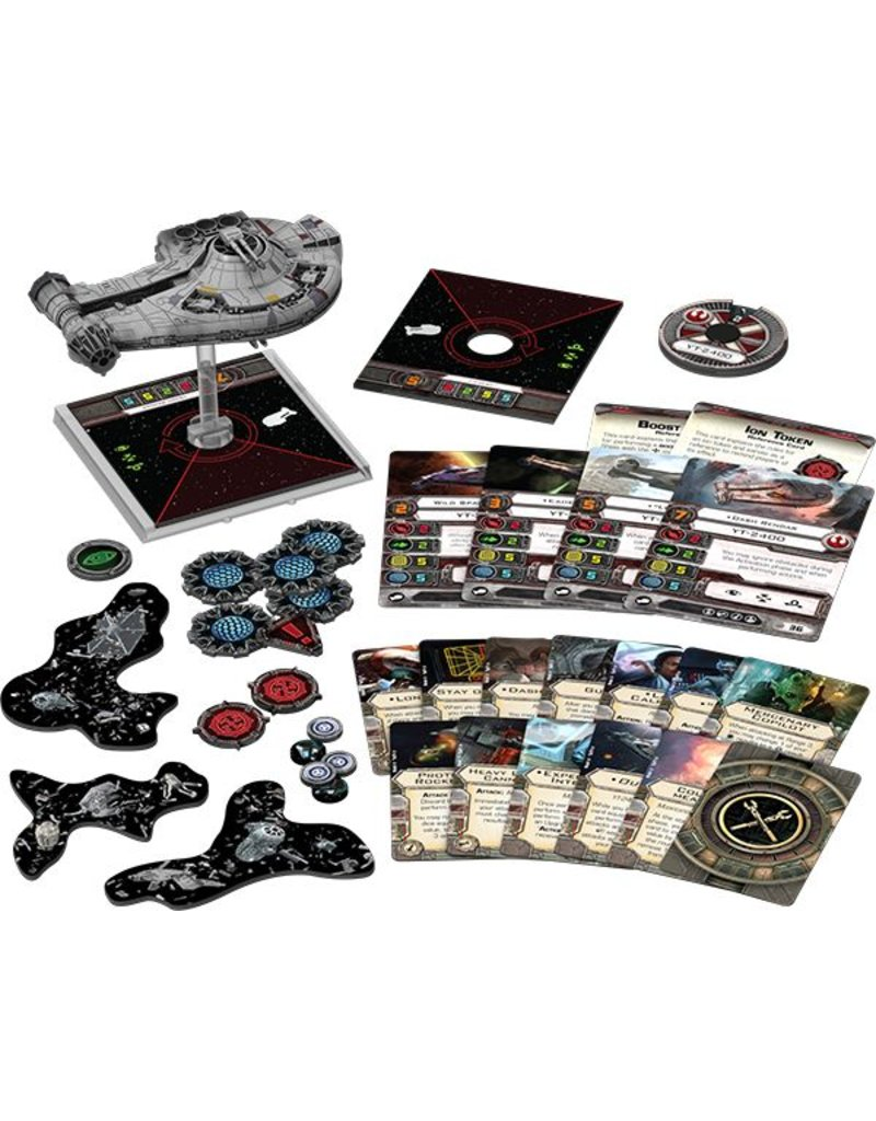 Fantasy Flight Games Star Wars X-Wing: YT-2400 Freighter Expansion Pack
