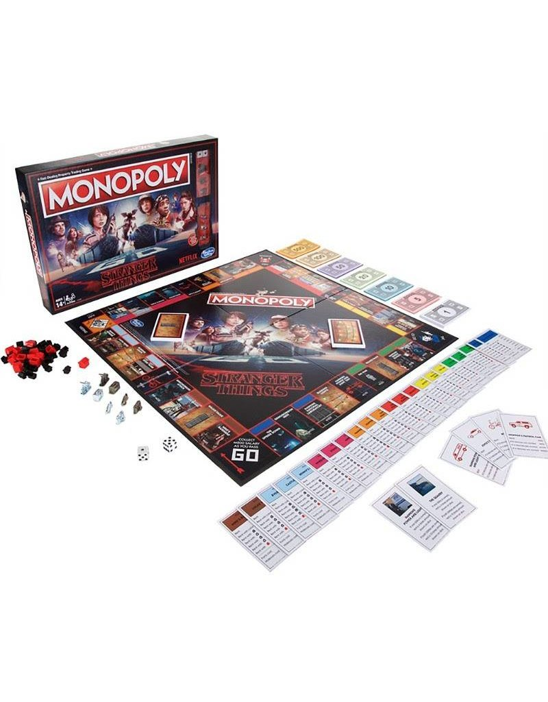 Hasbro Stranger Things Monopoly Board Game