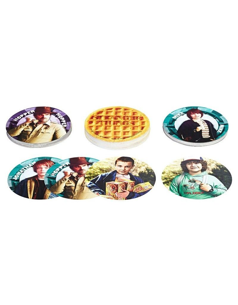 Hasbro Stranger Things Eggo Card Game