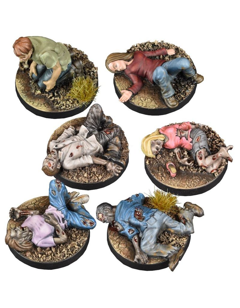 Mantic Games The Walking Dead: Prone Figures Booster
