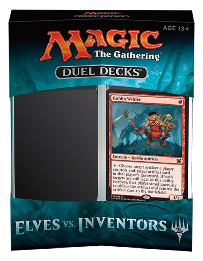 Wizards of the Coast Magic The Gathering Duel Decks: Elves vs Inventors
