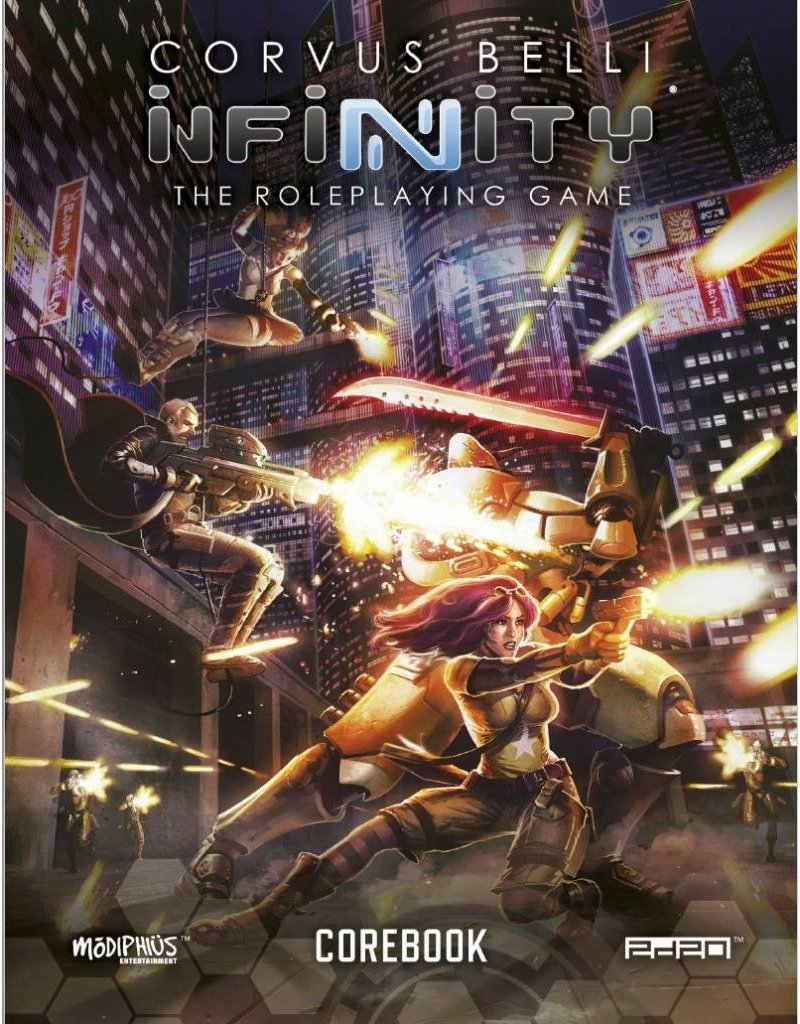 Modiphius Entertainment Infinity Roleplaying Game: Core Book