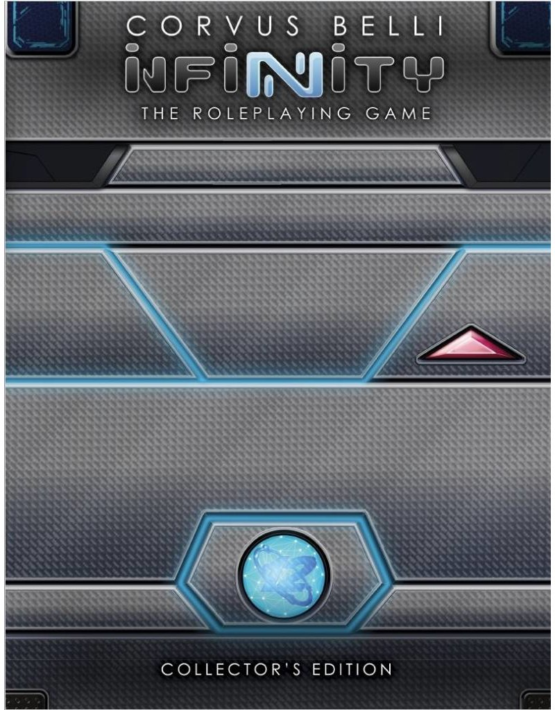 Modiphius Entertainment Infinity Roleplaying Game: Core Book Collector's Edition