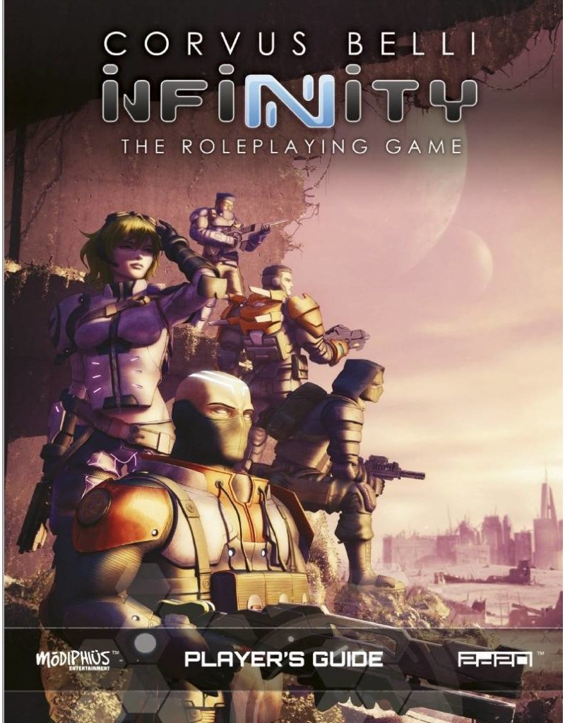 Modiphius Entertainment Infinity Roleplaying Game: Player's Guide