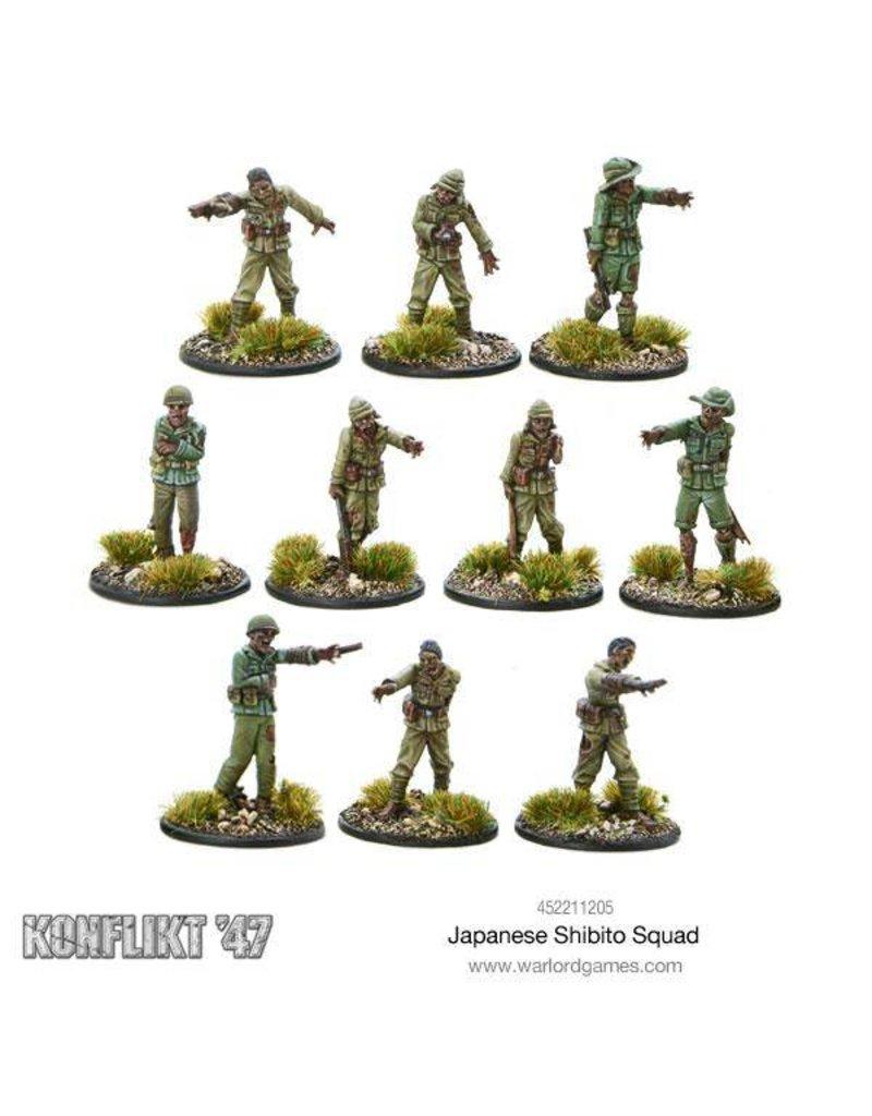 Warlord Games Japanese Shibito squad