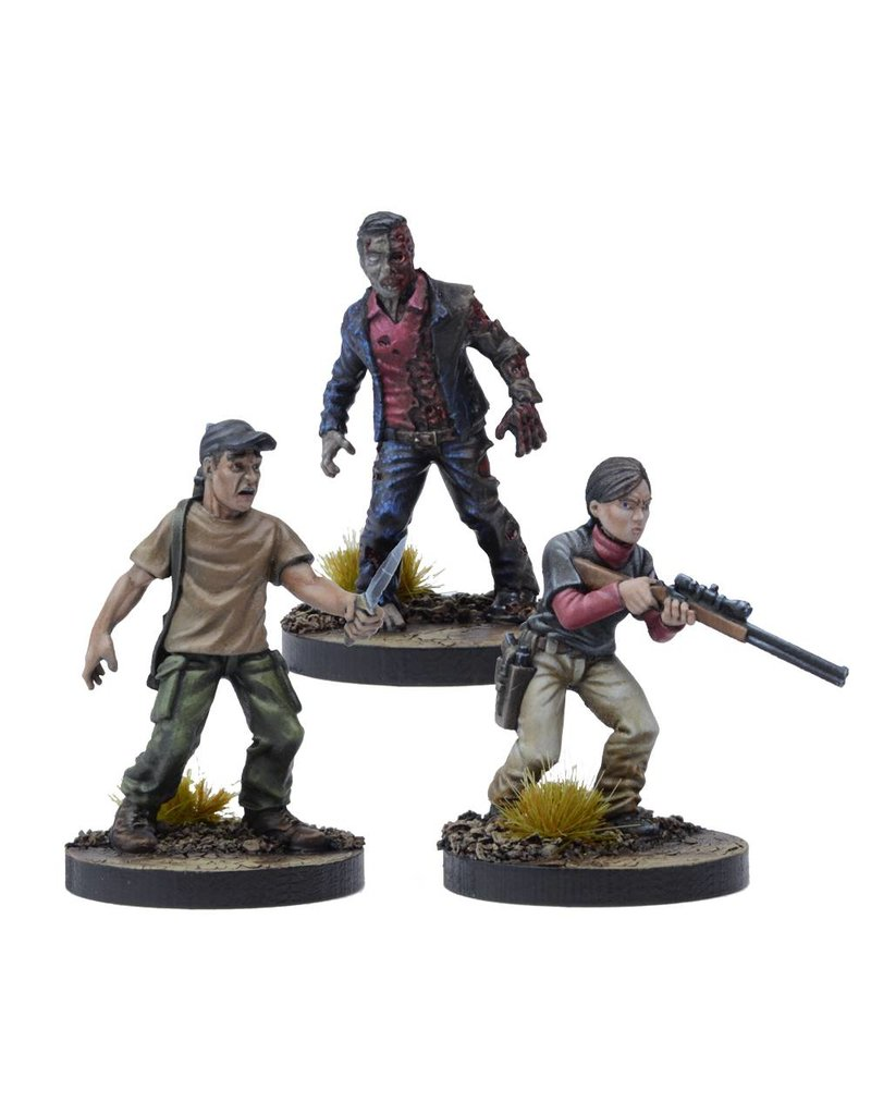 Mantic Games The Walking Dead:  Lilly Booster Pack