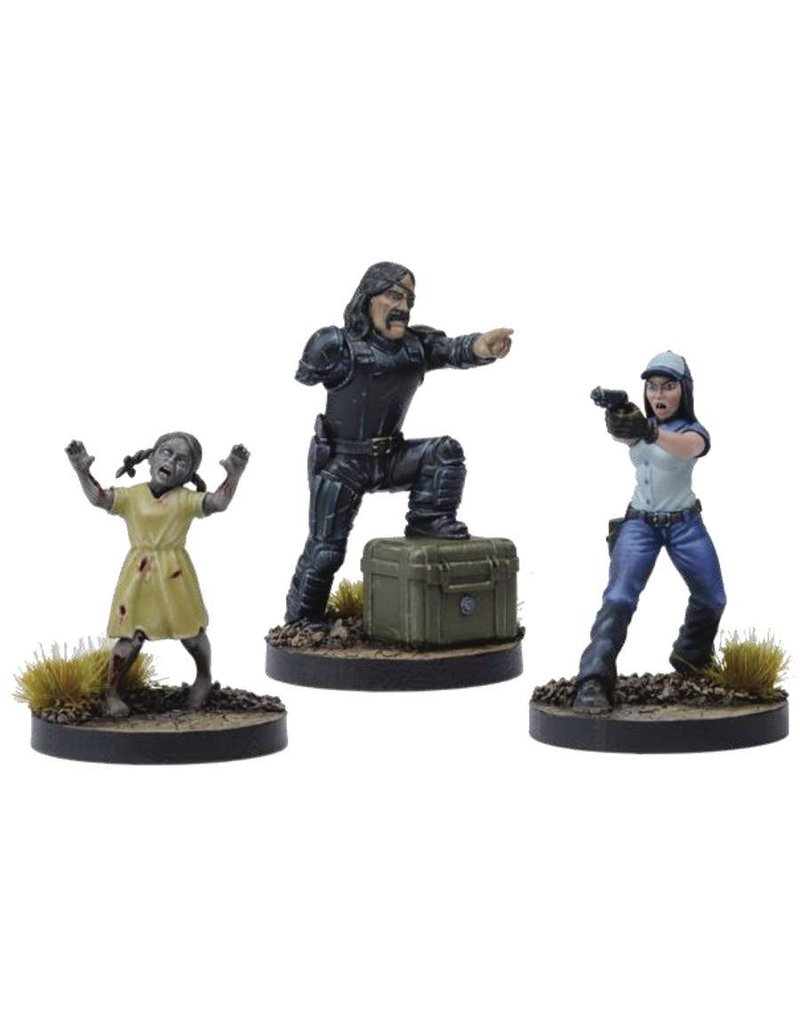 Mantic Games The Walking Dead: The Governor Of Woodbury Booster Pack