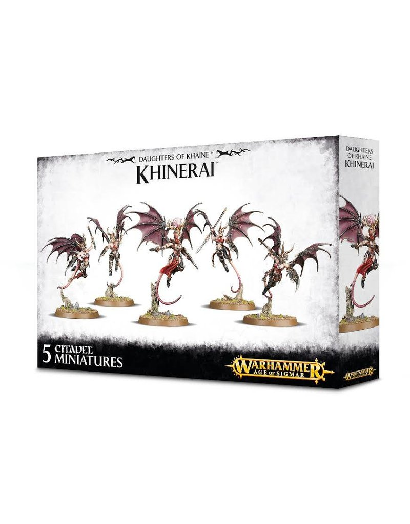 Games Workshop Daughters Of Khaine Khinerai Box Set