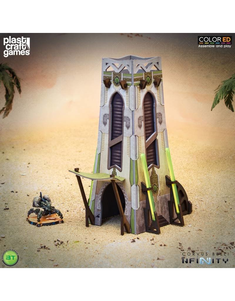 Plastcraft MeteoZon Cabin (Tall Small Bourak Building)