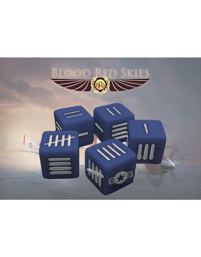 Warlord Games US Army Blood Red Skies Dice