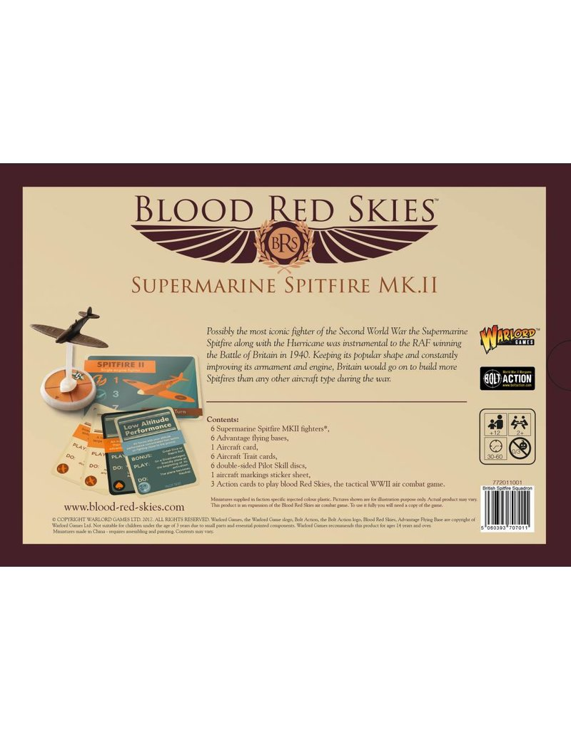 Warlord Games British Spitfire Squadron Box Set