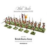 Warlord Games British Army Starter Set (American War Of Independence) Box Set