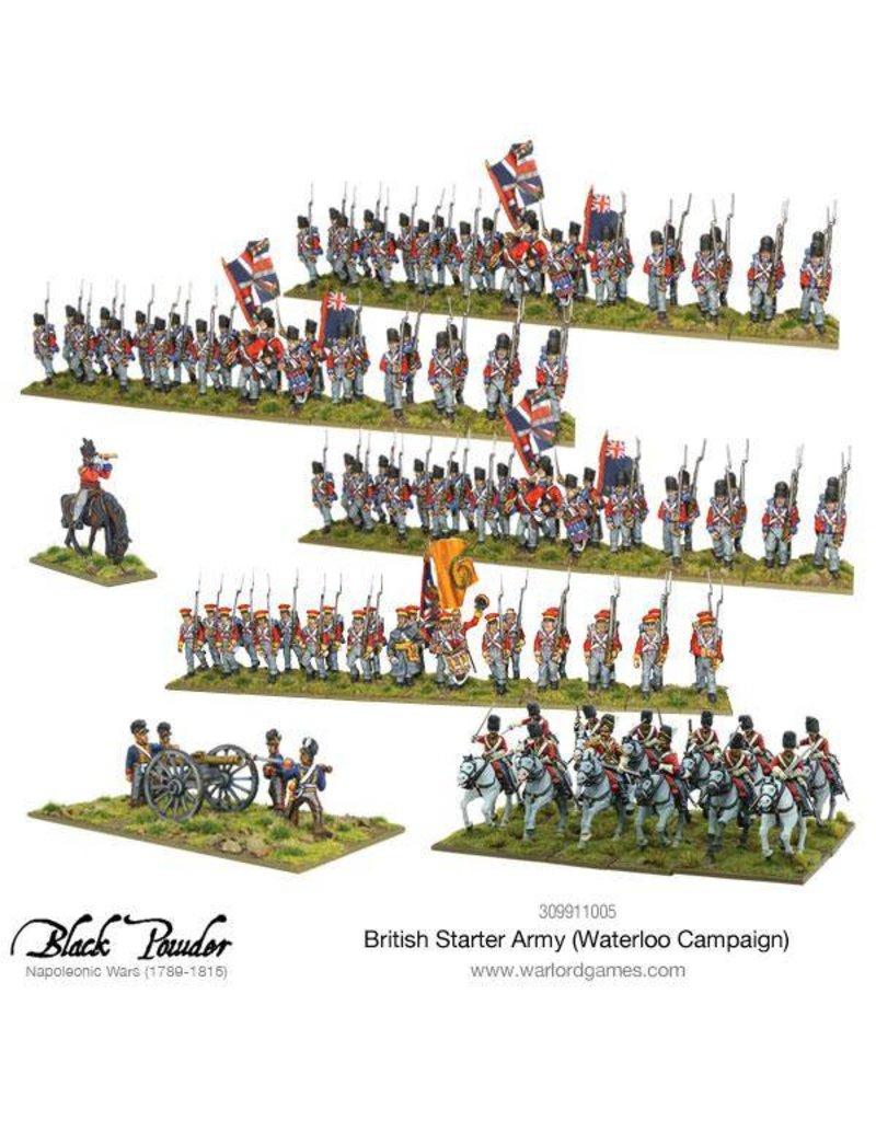 Warlord Games Napoleonic Wars 1789-1815 British Starter Army (Waterloo) Box Set