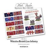 Warlord Games Napoleonic Wars 1789-1815 British Line Infantry (Waterloo)  Box Set