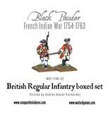 Warlord Games French Indian War 1754-1763 British Regular Infantry Box Set