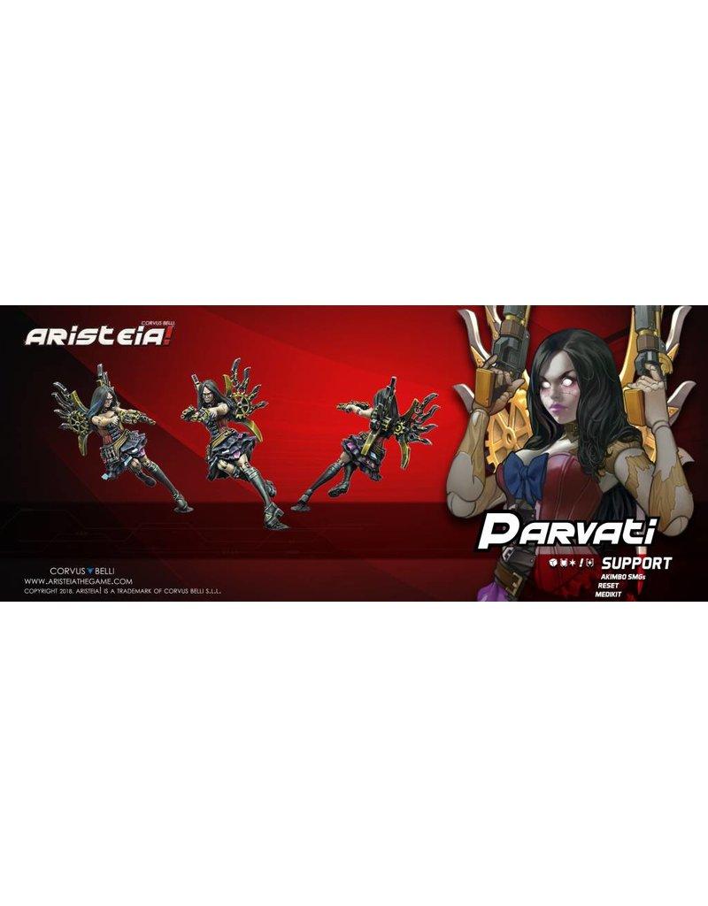 Corvus Belli Aristeia! Parvati 'Victorian Automata' Blister Pack