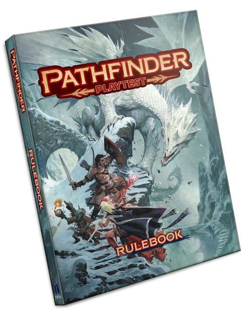 Paizo Pathfinder RPG 2nd Edition: Playtest Rulebook (Softback)