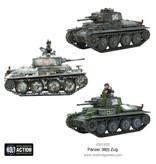 Warlord Games German Army Panzer 38(t) Zug Box Set