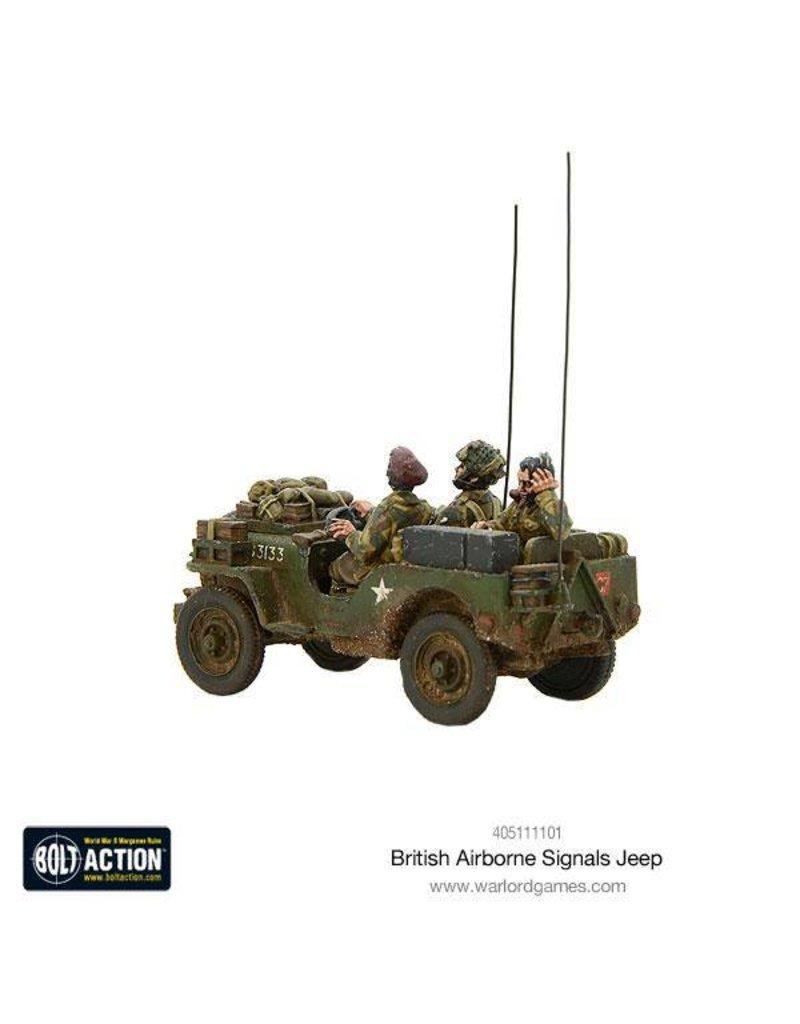 Warlord Games British Airborne Signals Jeep Box Set