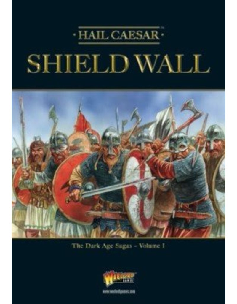 Warlord Games Shield Wall - The Dark Age Sagas Volume I Expansion Book