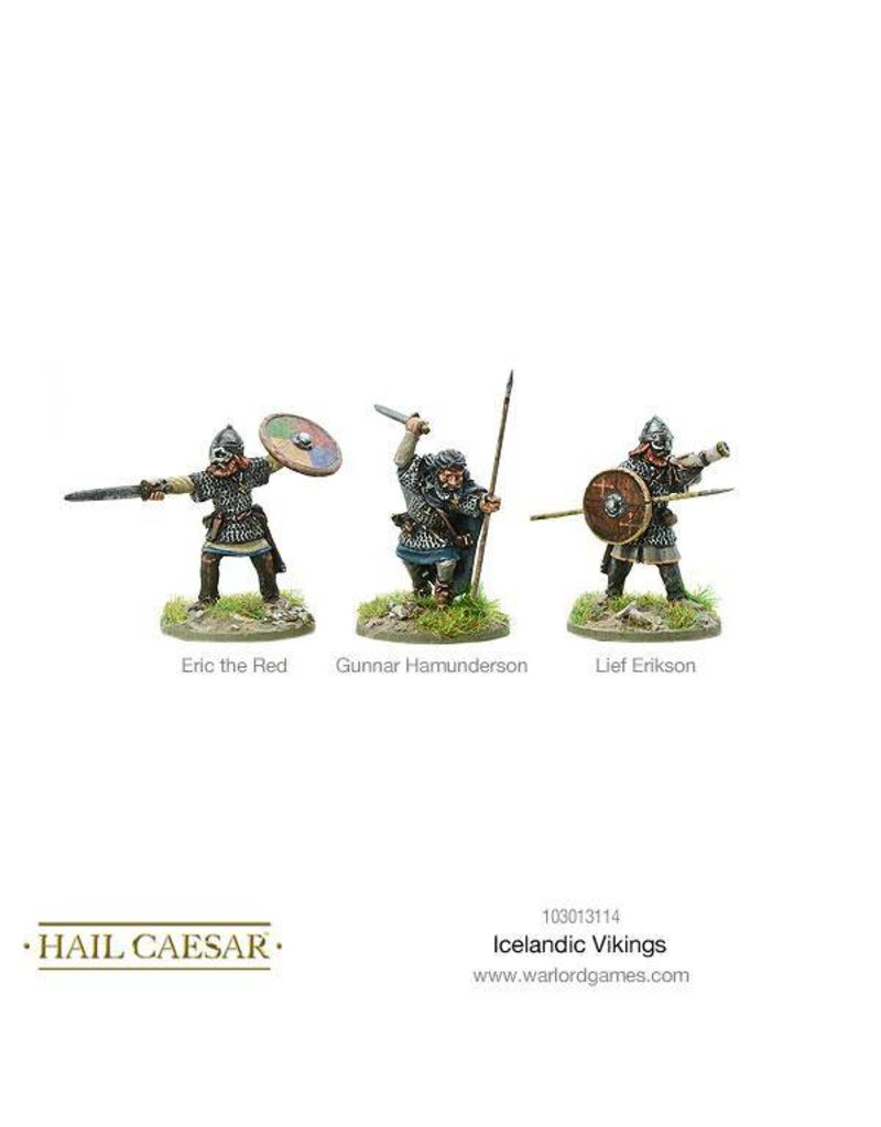 Warlord Games The Dark Ages Icelandic Vikings Box Set