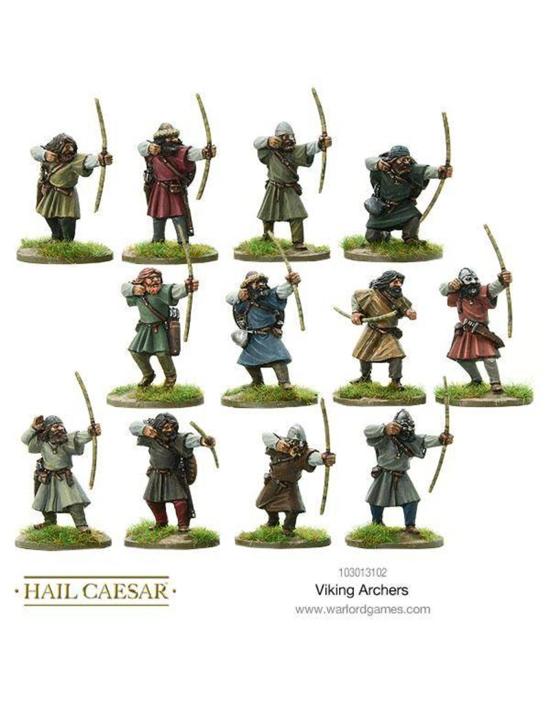 Warlord Games The Dark Ages Viking Archers Box Set