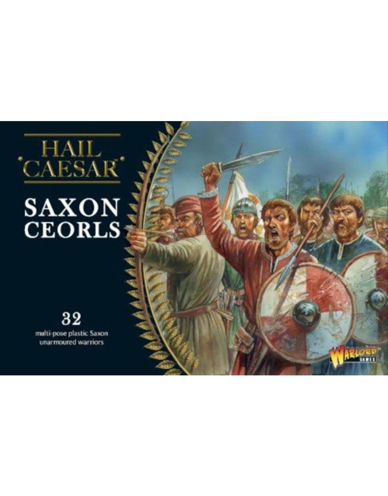 Warlord Games The Dark Ages Saxon Ceorls Box Set
