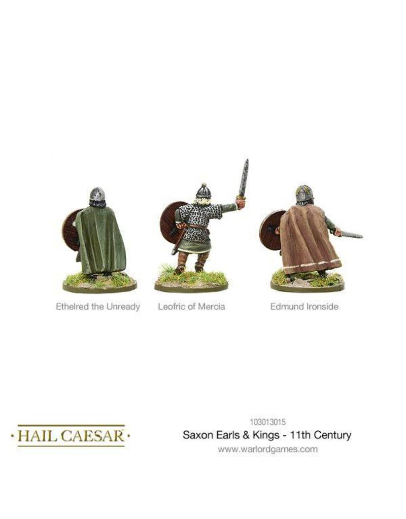 Warlord Games The Dark Ages Saxon Earls & Kings - 11th Century Pack
