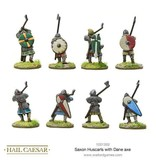 Warlord Games The Dark Ages Saxon Huscarls with Dane axe Pack