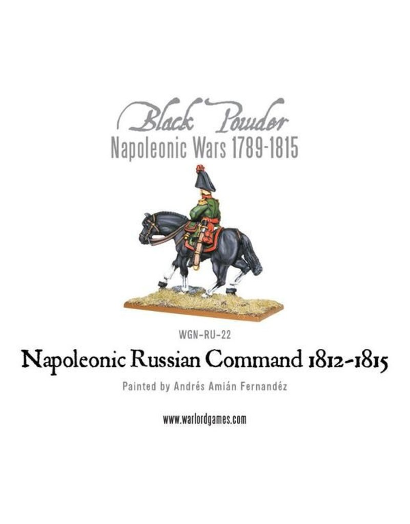 Warlord Games Napoleonic Wars 1789-1815 Russian Command (1812-1815) Pack