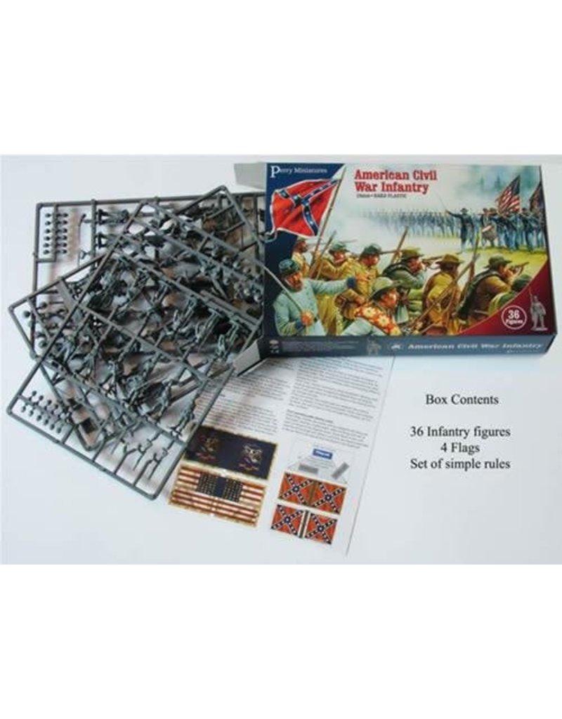 Perry Miniatures American Civil War 1861-1865 Infantry Box Set