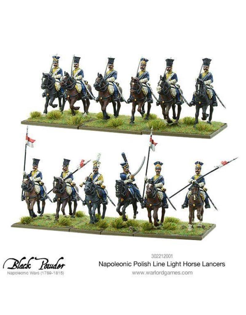 Warlord Games Napoleonic Wars 1789 – 1815 Polish Line Light Horse Lancers Box Set