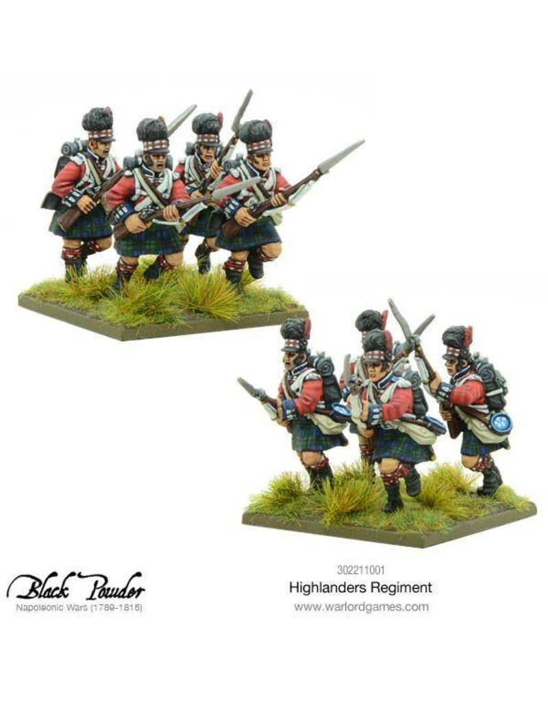 Warlord Games Napoleonic Wars 1789 – 1815 Highlanders Regiment Box Set