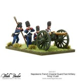 Warlord Games Napoleonic Wars 1789 – 1815 French Imperial Guard Foot Artillery 12-Pdr Firing Pack