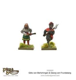 Warlord Games Gotz Von Berlichingen & Georg Von Frundsberg
