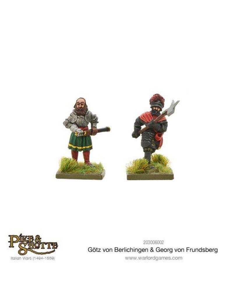 Warlord Games Italian Wars 1494-1559 Gotz Von Berlichingen & Georg Von Frundsberg Pack