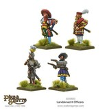 Warlord Games Italian Wars 1494-1559 Landsknechts Officers Pack