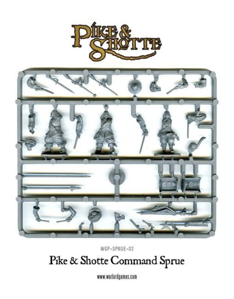 Warlord Games 30 Years War 1618-1648 Imperial Infantry Regiment Box Set