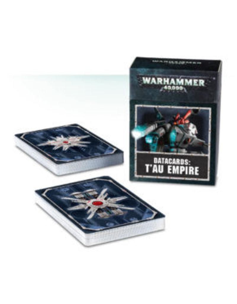 Games Workshop Datacards: T'au Empire (EN) 8th Edition