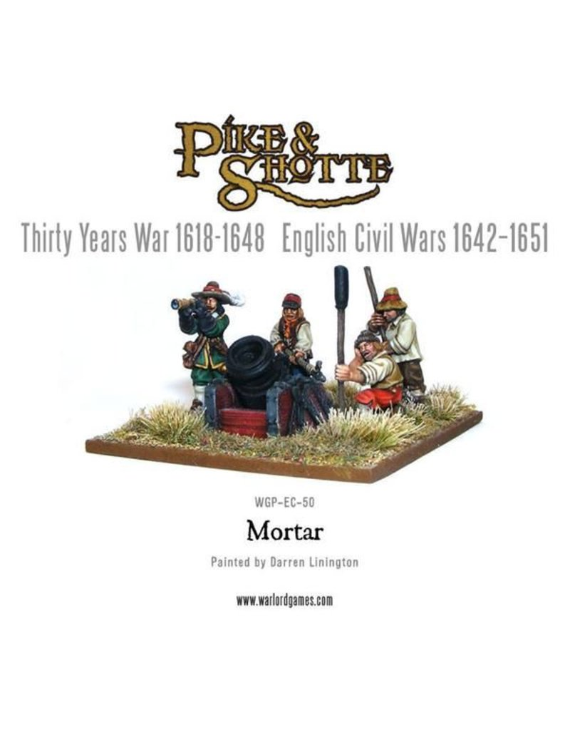 Warlord Games 30 Years War 1618-1648 Mortar & Crew Pack