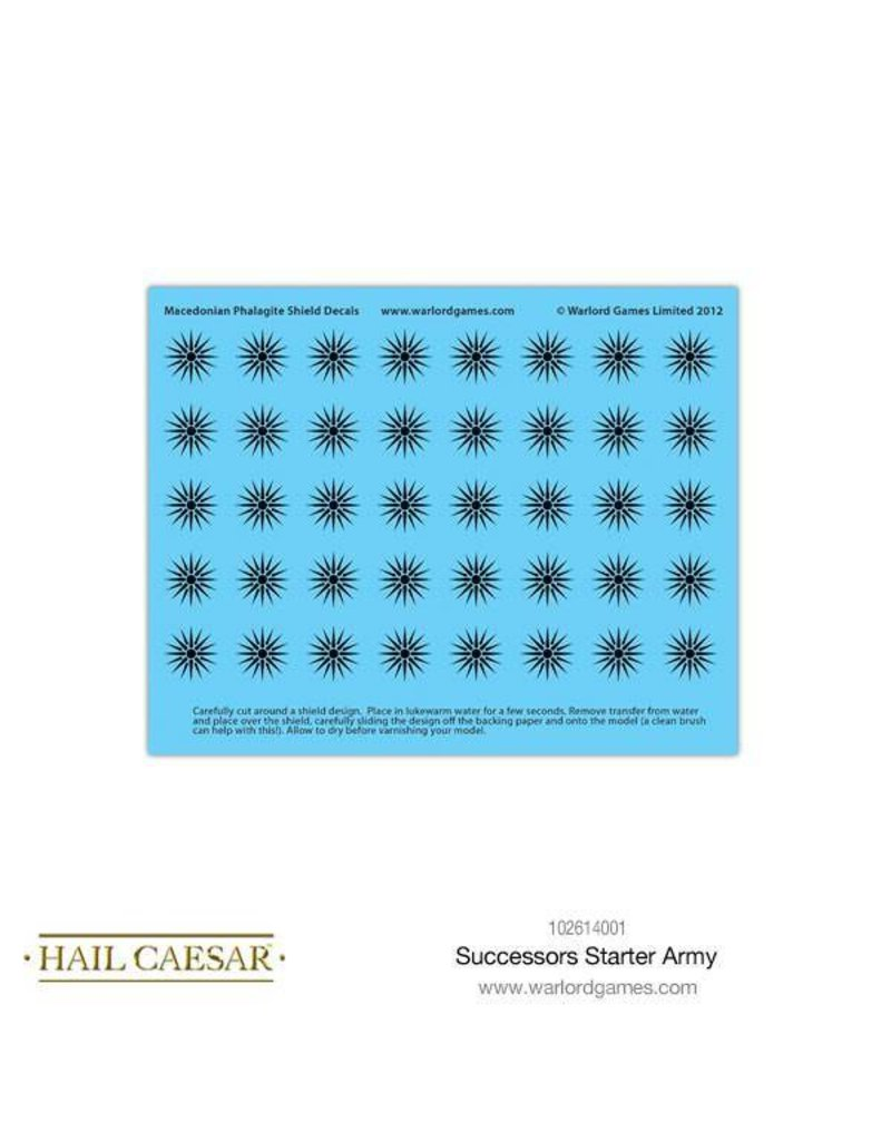 Warlord Games Aegean States Macedonian Successor Starter Army Box Set