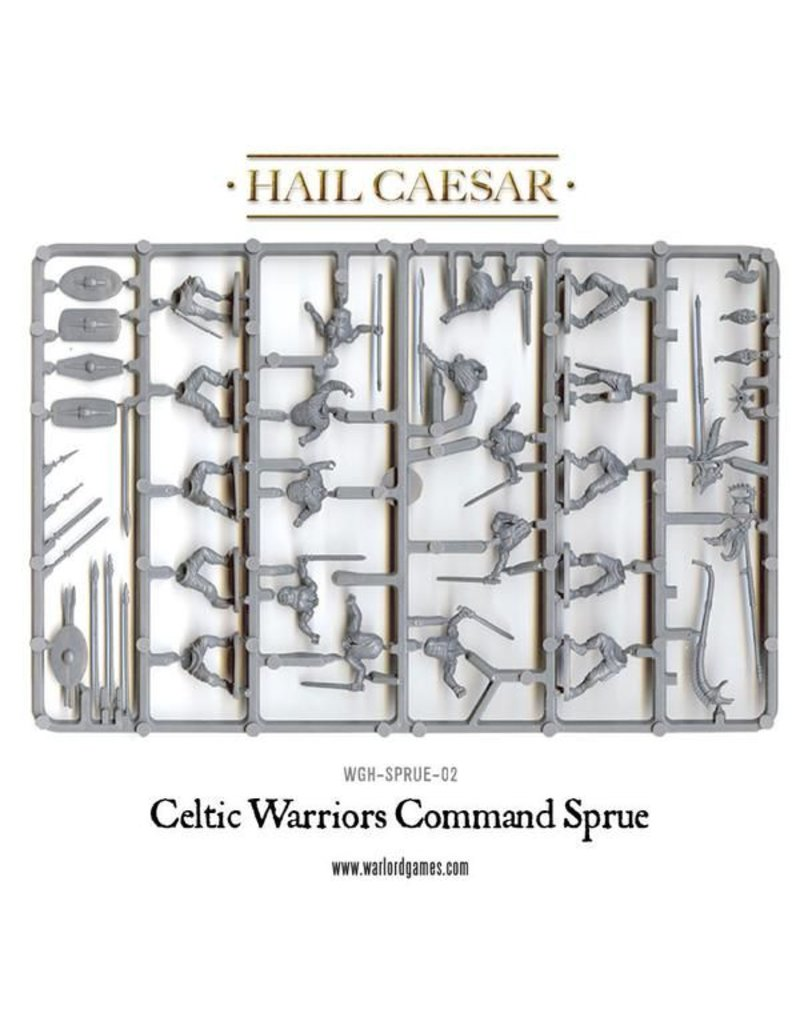 Warlord Games Enemies Of Rome Celtic Warriors Box Set