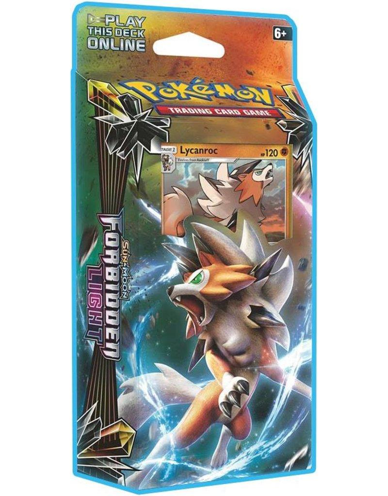 Pokemon Pokemon Sun & Moon TCG: Forbidden Light Theme Deck - Lycanroc