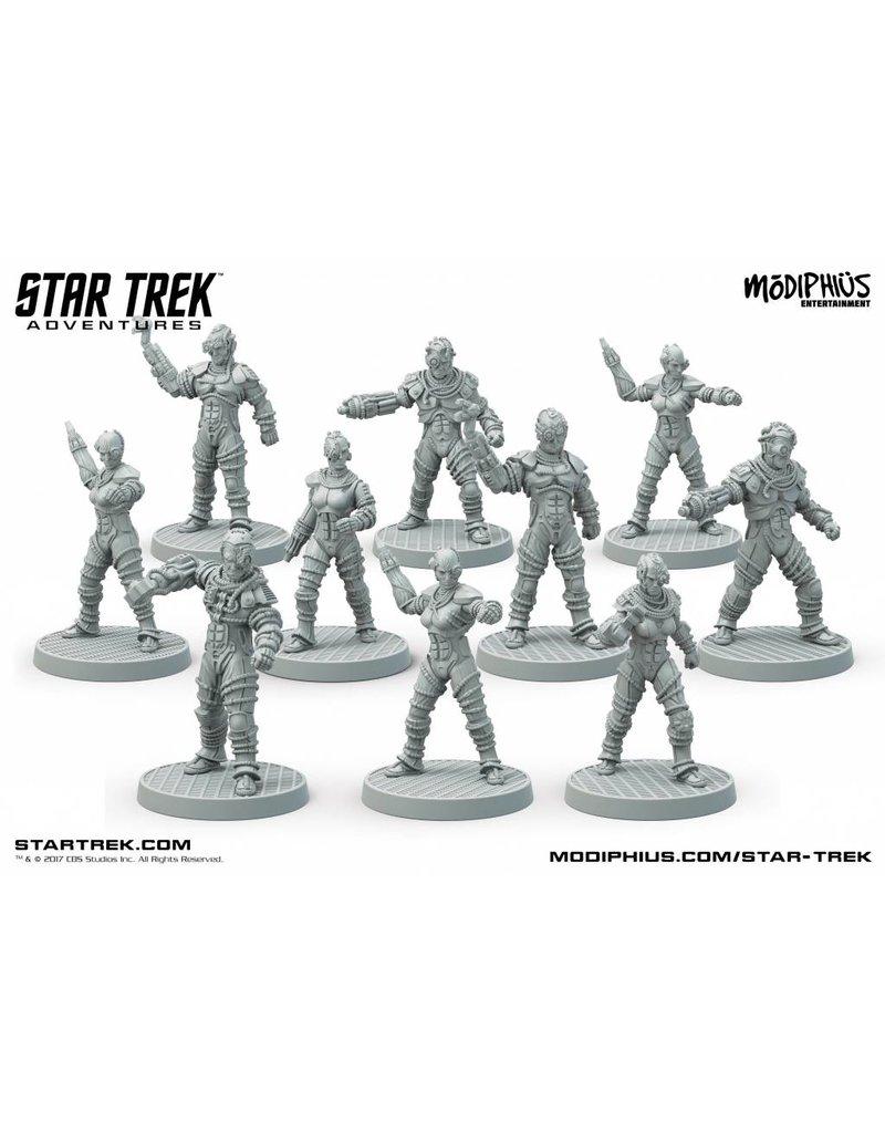 Modiphius Entertainment Star Trek Adventures: Borg collective 32mm Miniatures Pack