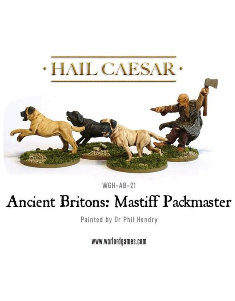 Warlord Games Enemies Of Rome Ancient Celt Mastiff Pack