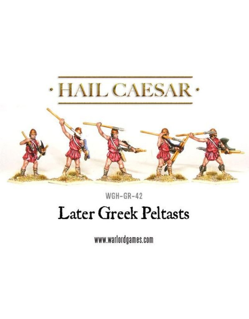 Warlord Games Aegean States Later Greek Peltasts Pack